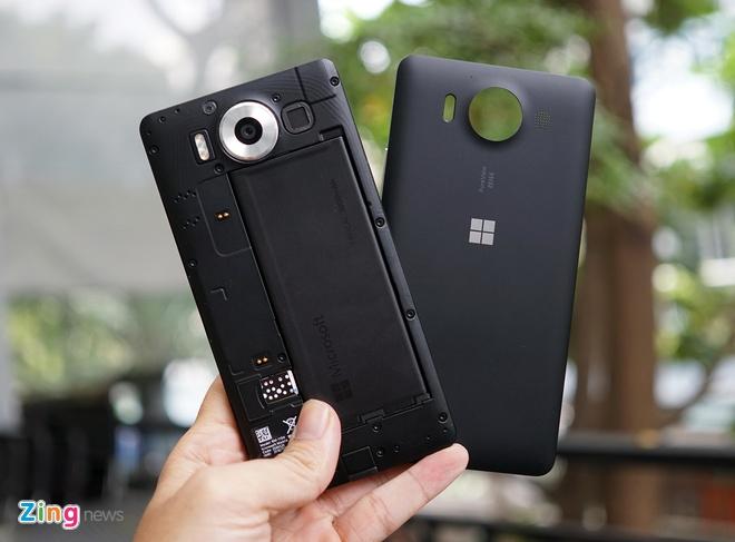 Can canh Microsoft Lumia 950 vua co mat tai Sai Gon hinh anh 13