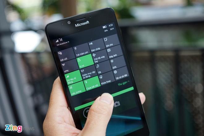 Can canh Microsoft Lumia 950 vua co mat tai Sai Gon hinh anh 11