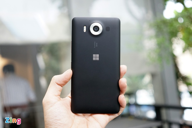 Can canh Microsoft Lumia 950 vua co mat tai Sai Gon hinh anh 6