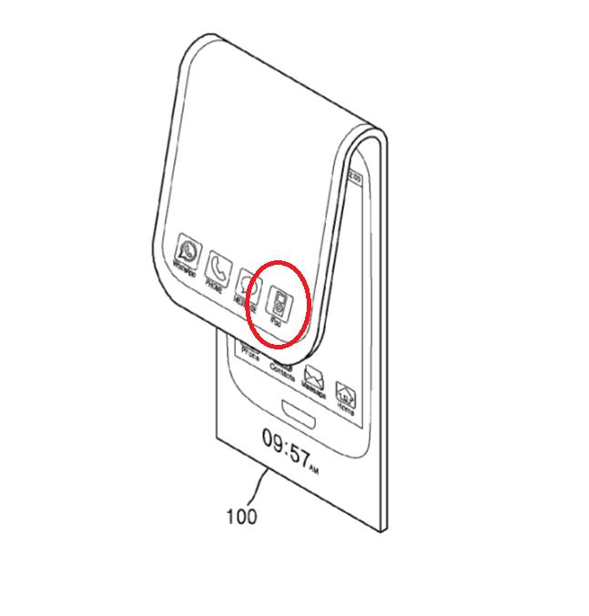Samsung sap ra de 2 man hinh, cuon nhu giay? hinh anh 1