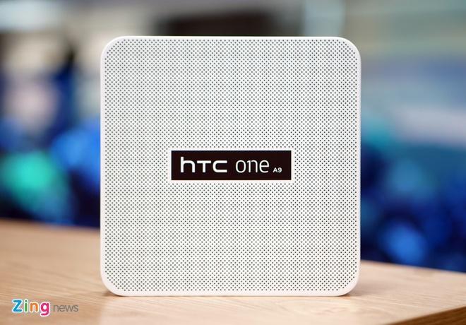 Mo hop HTC One A9 vua len ke hinh anh 1