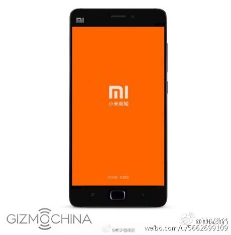 Lo anh Xiaomi Mi 5 voi nut Home cung hinh anh