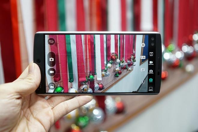 LG V10 chinh hang gia 16 trieu dong hinh anh