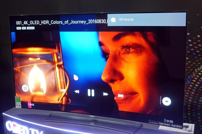 LG mang TV OLED 4K ve Viet Nam hinh anh