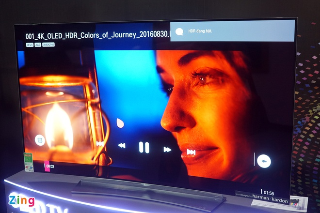 LG mang TV OLED 4K ve Viet Nam hinh anh 2