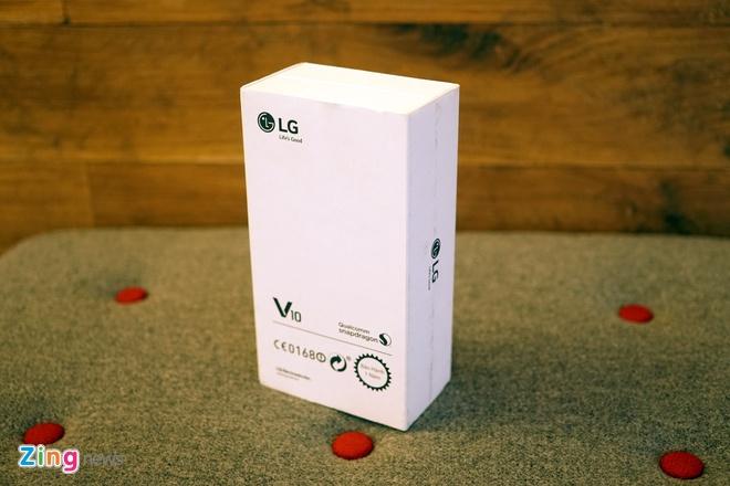 Mo hop LG V10 camera kep, hai man hinh vua ra mat o VN hinh anh 1