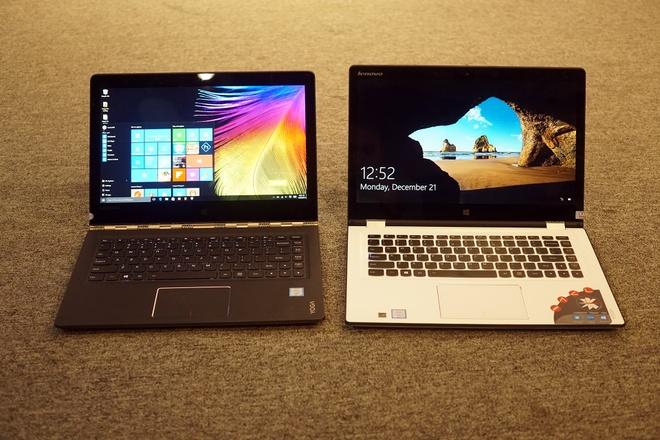 Lenovo ra mat 2 laptop Yoga sieu mong chay Windows 10 o VN hinh anh