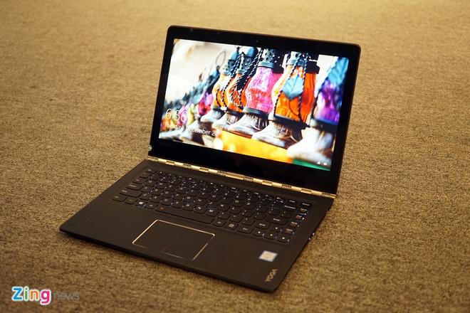 Lenovo ra mat 2 laptop Yoga sieu mong chay Windows 10 o VN hinh anh 8