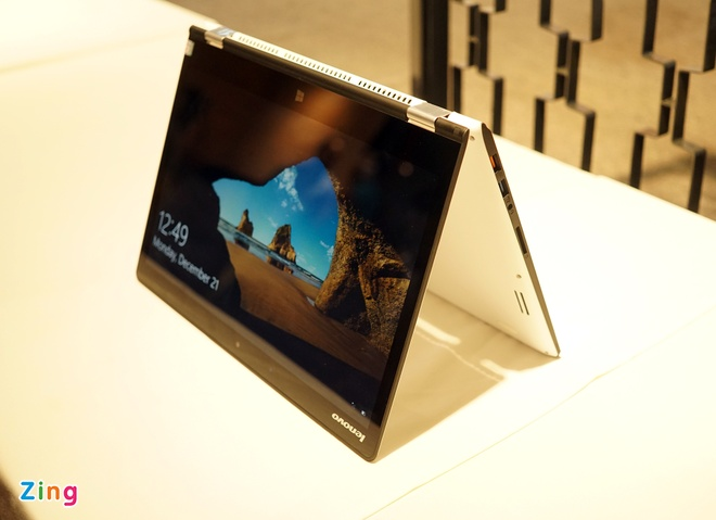 Lenovo ra mat 2 laptop Yoga sieu mong chay Windows 10 o VN hinh anh 3