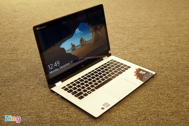Lenovo ra mat 2 laptop Yoga sieu mong chay Windows 10 o VN hinh anh 4