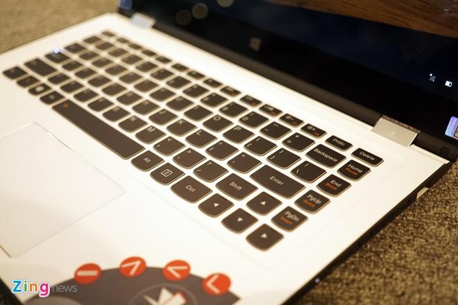 Lenovo ra mat 2 laptop Yoga sieu mong chay Windows 10 o VN hinh anh 6