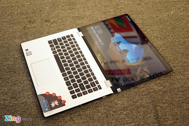 Lenovo ra mat 2 laptop Yoga sieu mong chay Windows 10 o VN hinh anh 7