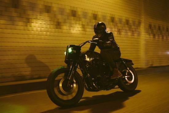 Harley ky di cua tho do Tay Ban Nha hinh anh 5