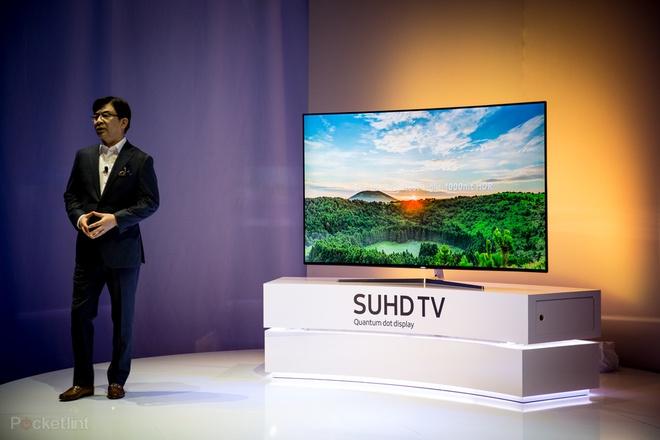 Loat TV the he 2016 vua trinh lang tai CES hinh anh 4