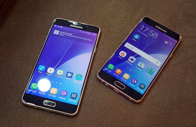 Mo hop Galaxy A5 va A7 ban 2016 vua len ke tai VN hinh anh
