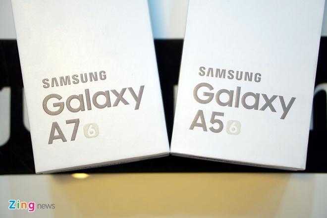 Mo hop Galaxy A5 va A7 ban 2016 vua len ke tai VN hinh anh 1