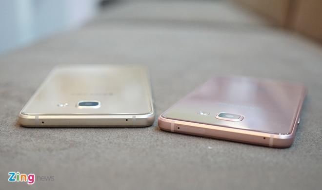 Mo hop Galaxy A5 va A7 ban 2016 vua len ke tai VN hinh anh 5