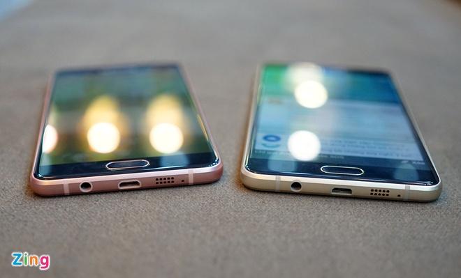 Mo hop Galaxy A5 va A7 ban 2016 vua len ke tai VN hinh anh 6