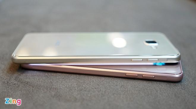 Mo hop Galaxy A5 va A7 ban 2016 vua len ke tai VN hinh anh 7