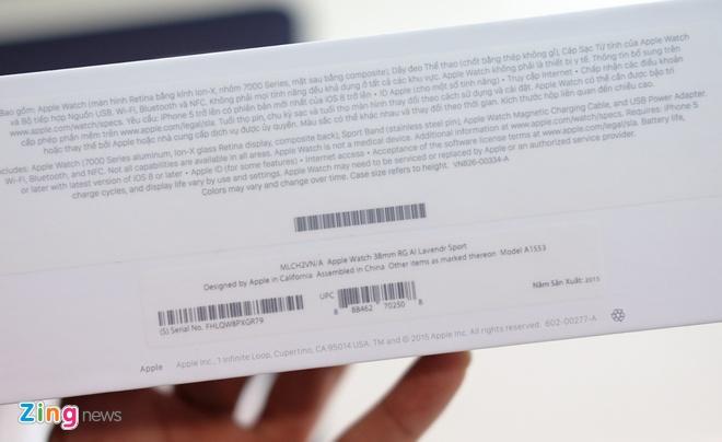 Apple Watch chinh hang vua ban o VN, gia tu 11,6 trieu hinh anh 2