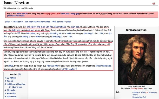 Trang Wikipedia tai Viet Nam thuong xuyen bi pha hoai hinh anh 1