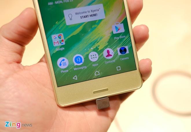 Can canh Sony Xperia X va XA vua ra mat hinh anh 7