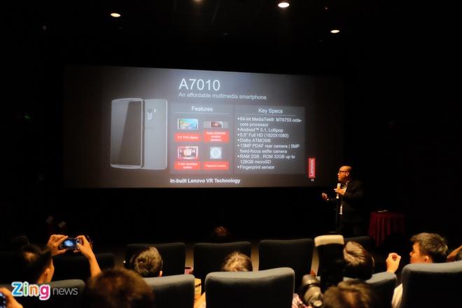 Lenovo ra mat loat smartphone ho tro kinh VR tai Viet Nam hinh anh 1
