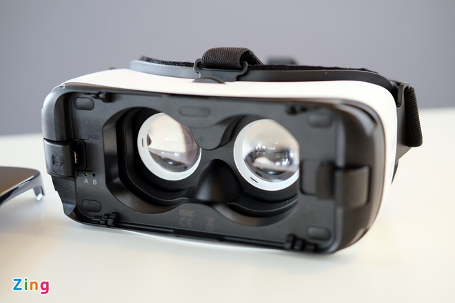 Mo hop kinh Samsung Gear VR xem video thuc te ao o VN hinh anh 5