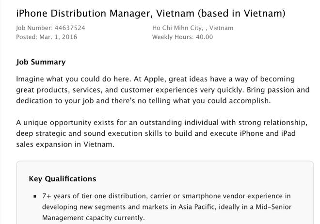 Apple, Nokia am tham chuan bi tung quan tai Viet Nam hinh anh 1