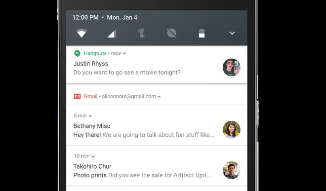 Android N beta ra mat: Tiet kiem 3G, chia doi man hinh hinh anh 2