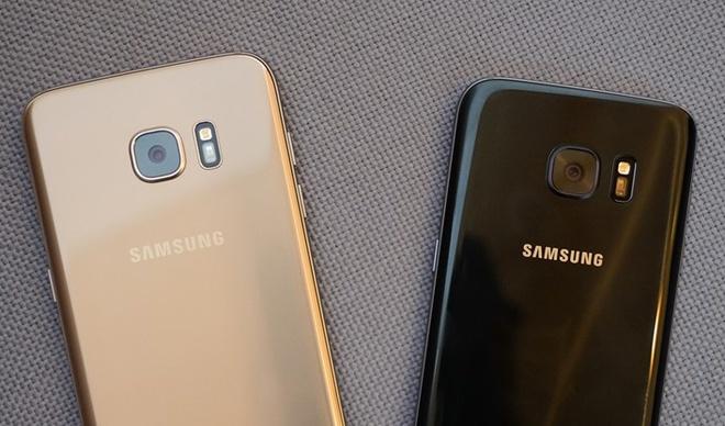 Galaxy S7 va S7 edge xach tay ve VN gia tu 14,5 trieu dong hinh anh
