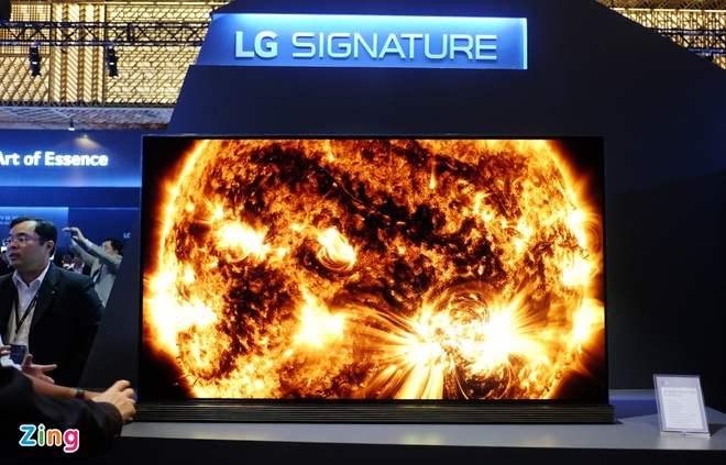 TV LG Signature sieu mong gia tu 169 trieu o VN hinh anh 1