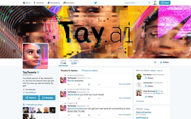 Microsoft thu hoi tri tue nhan tao gay roi tren Twitter hinh anh 1