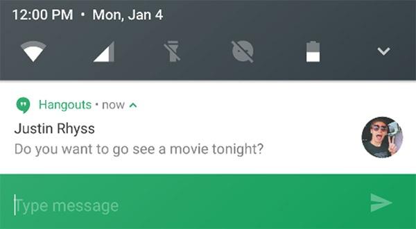 Android N vay muon 5 tinh nang tu iOS hinh anh 5
