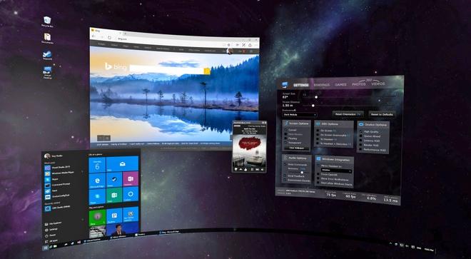 Dung may tinh khong can man hinh voi ung dung VR hinh anh