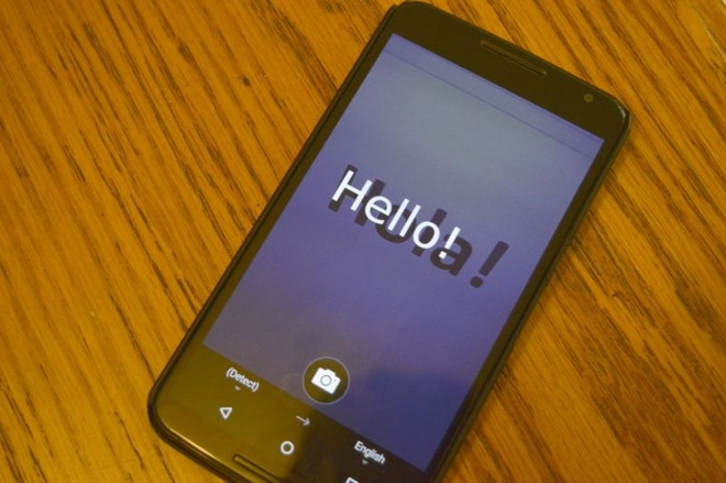 Microsoft Translator tren Android da ho tro dich chu tu anh hinh anh 1