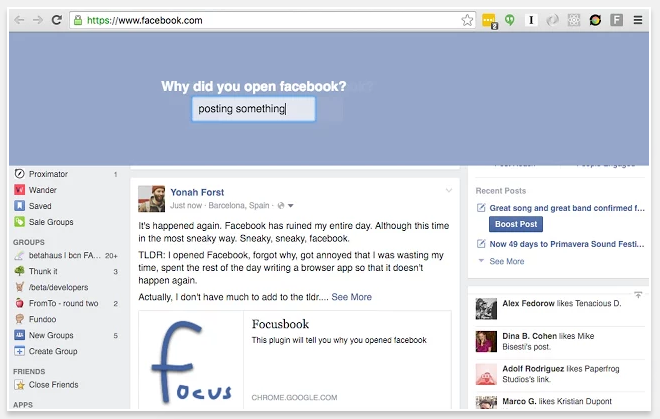 Cai nghien Facebook bang trinh duyet Chrome hinh anh 1