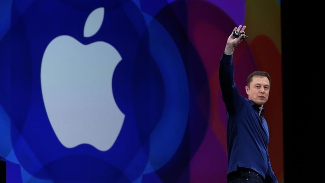 'Apple nen mua lai Tesla va de Elon Musk lam CEO' hinh anh