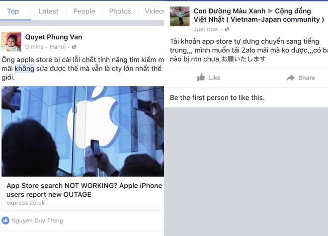 App Store tren iPhone loi, te liet tim kiem hinh anh 2