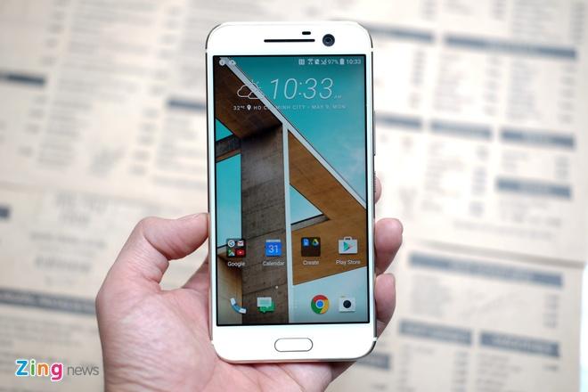HTC 10 xuat hien o Viet Nam, ra mat giua thang 5 hinh anh 1