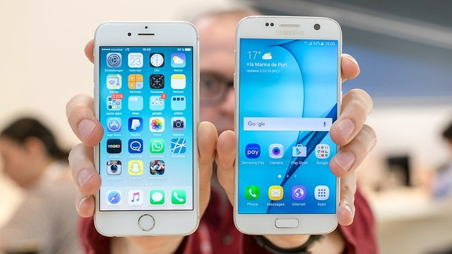Dien thoai Android hong nhieu gap doi iPhone hinh anh