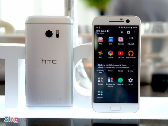 HTC 10 ra mat tai VN, gia tu 16,9 trieu dong hinh anh 1