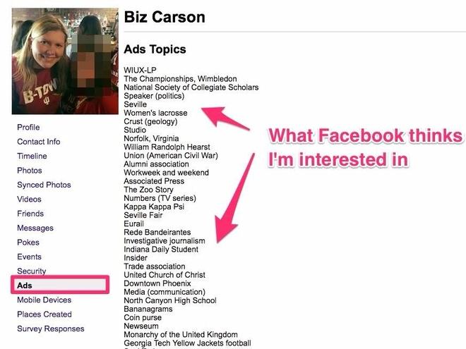 Co gi trong du lieu tai ve tu Facebook? hinh anh 1