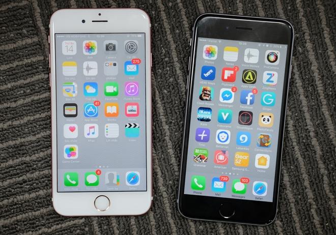 So sanh giao dien iOS 9 va iOS 10 hinh anh
