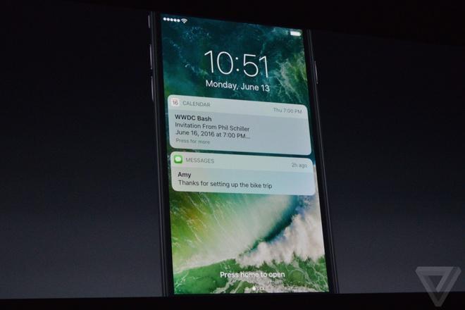 10 tinh nang moi tren iOS 10 hinh anh 1