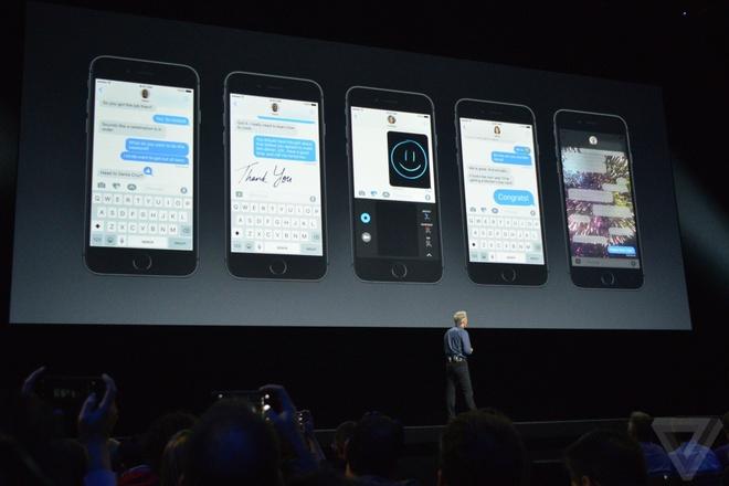 10 tinh nang moi tren iOS 10 hinh anh