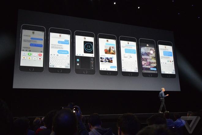 iOS 10 ra mat: Giao dien, tin nhan, hinh anh moi hinh anh 2