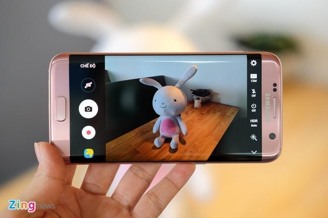 Mo hop Galaxy S7 edge mau hong chinh hang vua ban o VN hinh anh 14