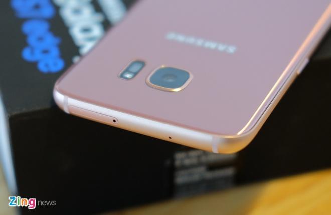 Mo hop Galaxy S7 edge mau hong chinh hang vua ban o VN hinh anh 6