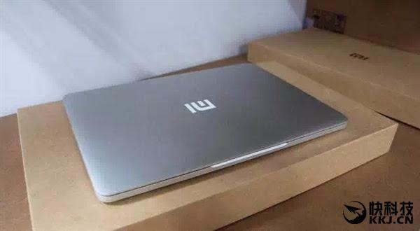 Lo anh 'MacBook gia re' cua Xiaomi hinh anh